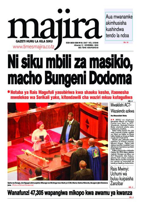 Ni siku mbili za masikio, macho Bungeni Dodoma | MAJIRA