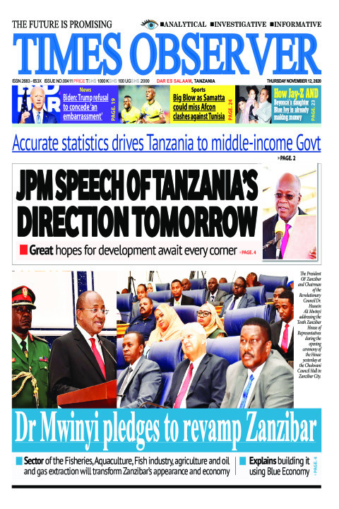JPM SPEECH OF TANZANIA'S DIRECTION TOMORROW | Times Observer