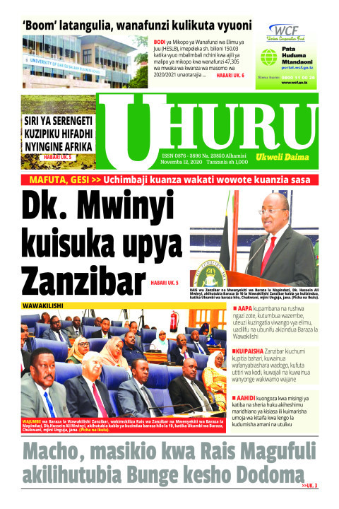 Dk. Mwinyi kuisuka upya Zanzibar | Uhuru