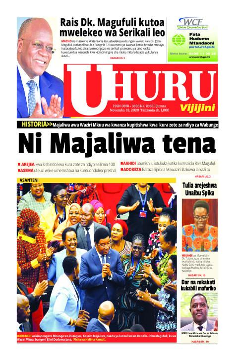 Ni Majaliwa tena | Uhuru