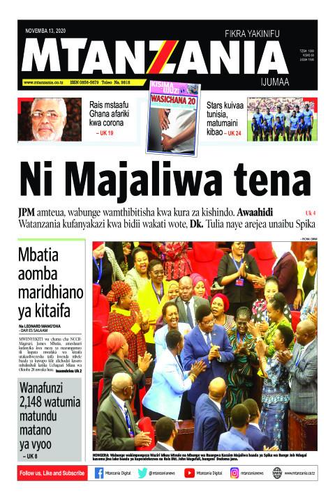 Ni Majaliwa tena | Mtanzania