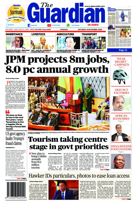 JPM projects 8m jobs, 8.0 pc annual growth   The Guardian