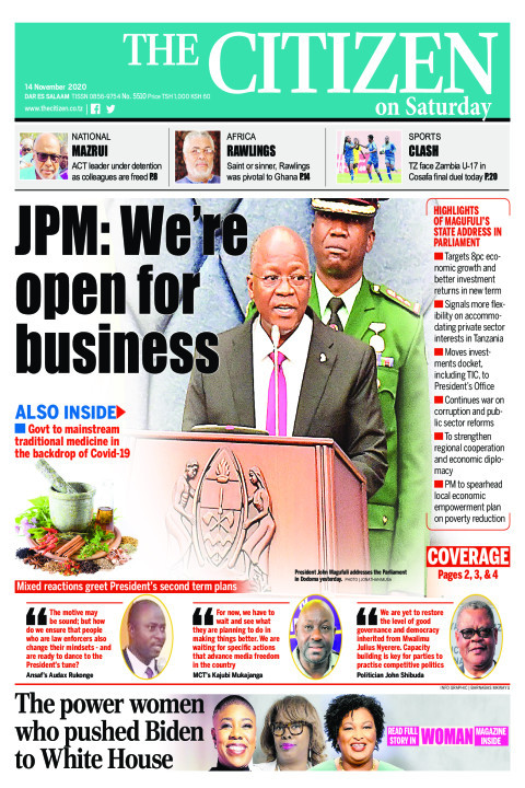 JPM: WE'RE OPEN FOR BUSINESS  | The Citizen