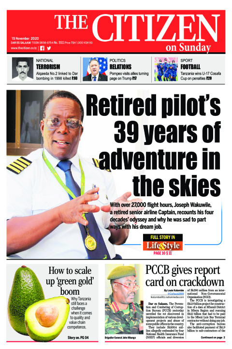 RETIRED PILOT'S 39 YEARS OF ADVENTURE IN THE SKIES  | The Citizen