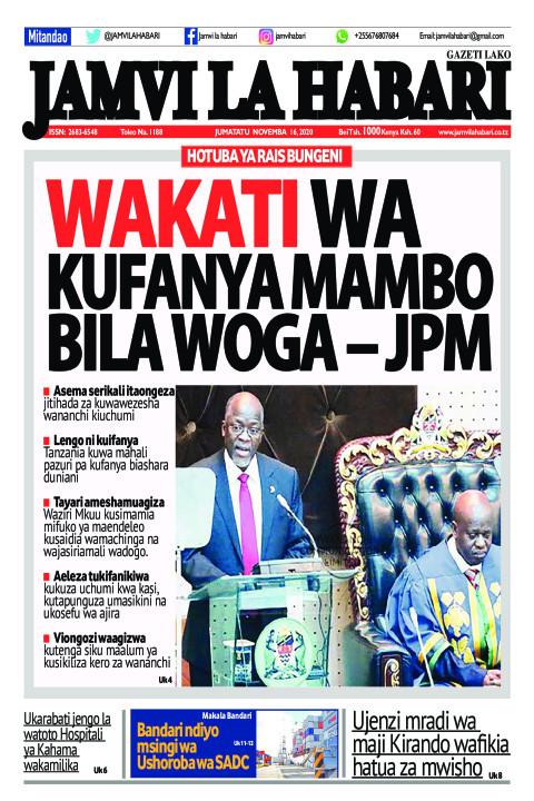 Wakati wa kufanya mambo bila woga – JPM | Jamvi La Habari