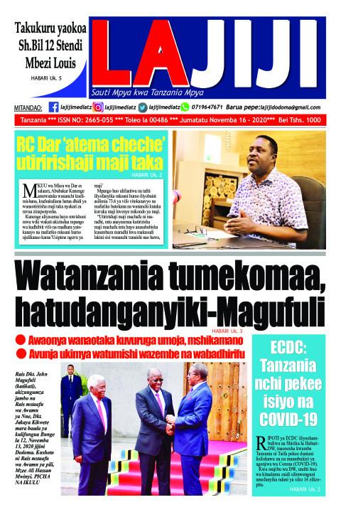Watanzania tumekomaa, hatudanganyiki-Magufuli  | LaJiji