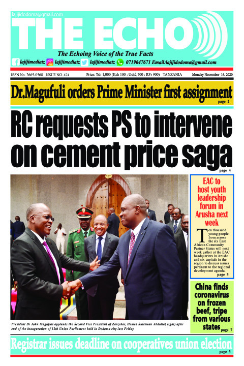 RC requests PS to intervene on cement price saga | The ECHO