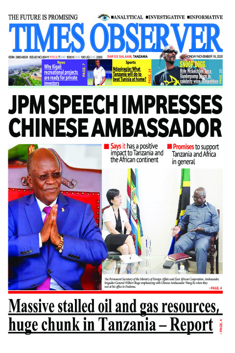JPM SPEECH IMPRESSES CHINESE AMBASSADOR | Times Observer