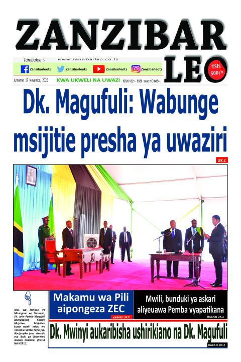 Mwili, bunduki ya askari aliyeuawa Pemba vyapa kana | ZANZIBAR LEO