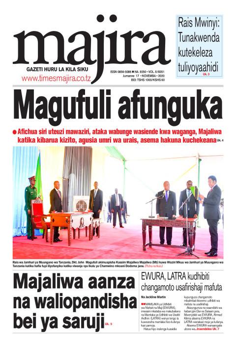 Magufuli afunguka | MAJIRA