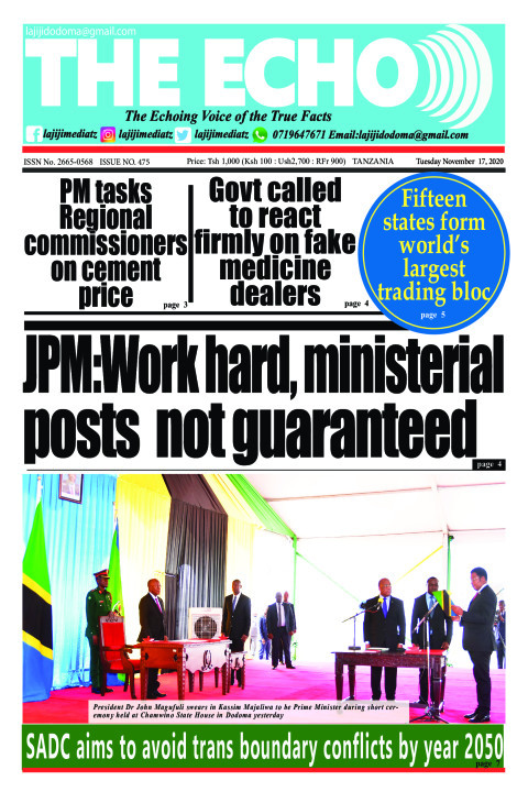 JPM:Work hard, ministerial posts  not guaranteed | The ECHO