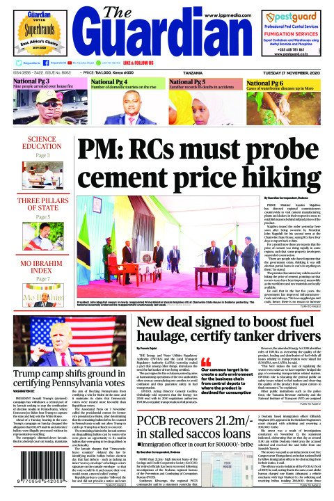 PM: RCs must probe cement price hiking | The Guardian