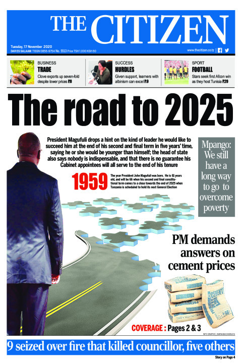 THE ROAD TO 2025  | The Citizen