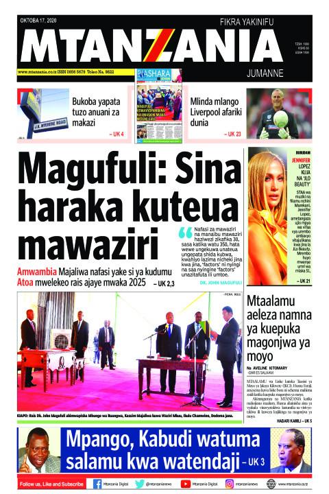 Magufuli: Sina haraka kuteua mawaziri | Mtanzania