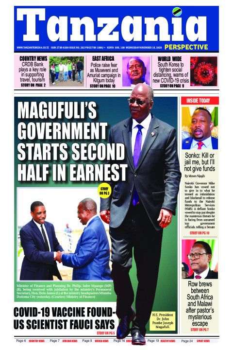 Magufuli's government starts second half in earnest | Tanzania Perspective