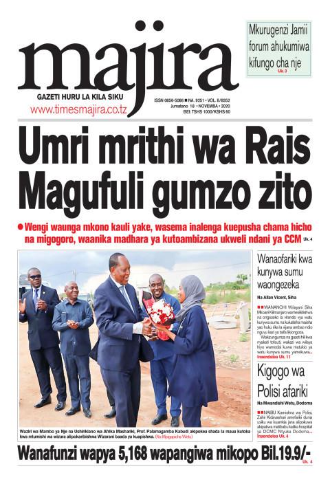 Umri mrithi wa Rais Magufuli gumzo zito | MAJIRA