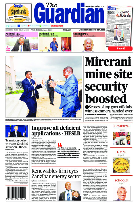 Mirerani mine site security boosted    The Guardian