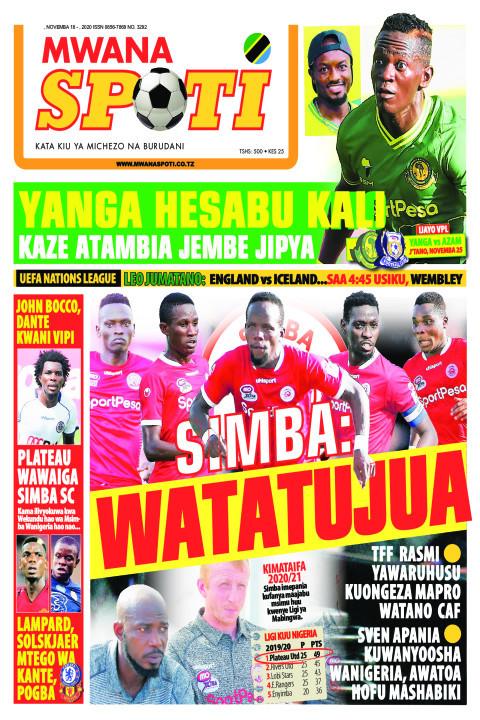 YANGA HESABU KALI,SIMBA WATATUJUA  | Mwanaspoti