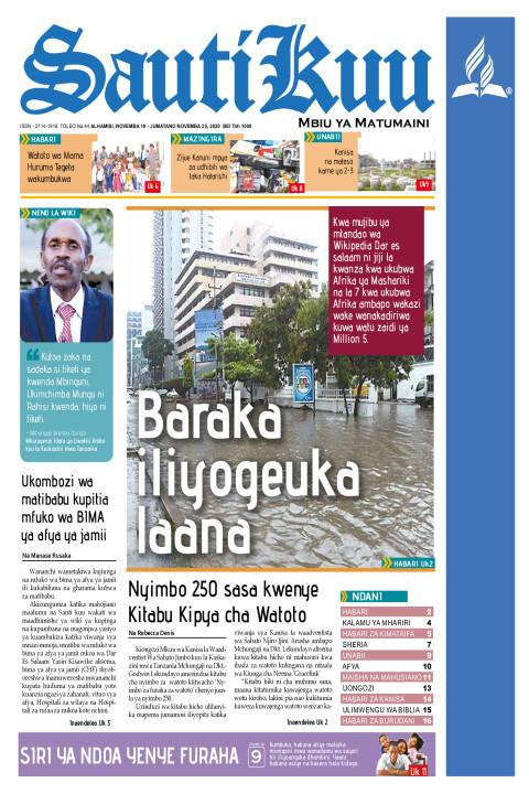 Baraka iliyogeuka laana | Sauti Kuu Newspaper