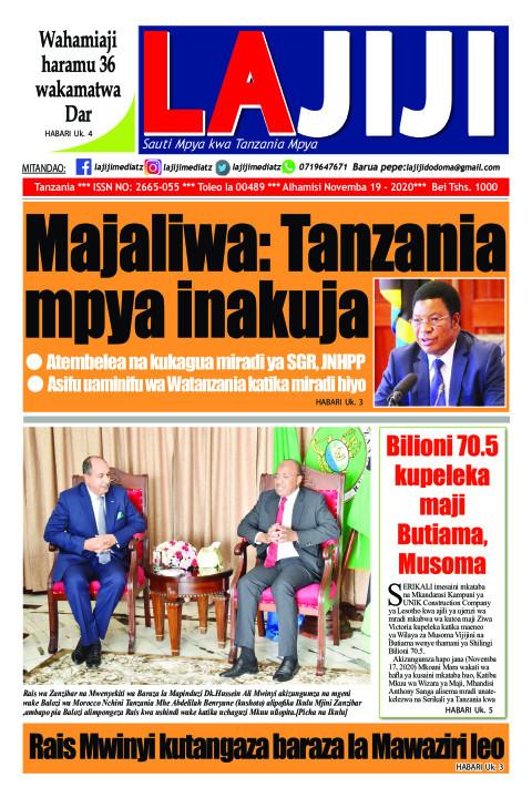 Majaliwa: Tanzania mpya inakuja | LaJiji