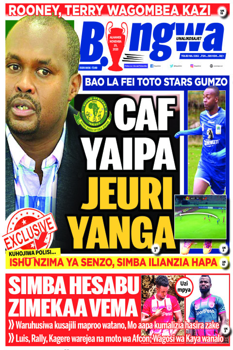 CAF YAIPA JEURI YANGA | Bingwa