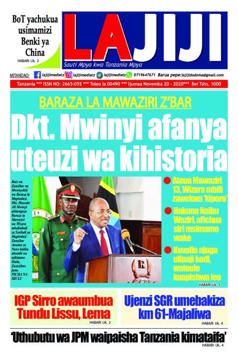 Dkt. Mwinyi afanya uteuzi wa kihistoria  | LaJiji