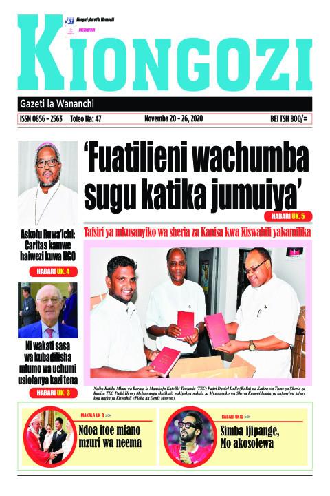 'Fuatilieni wachumba sugu katika jumuiya' | Kiongozi