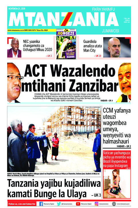 ACT Wazalendo mtihani Zanzibar | Mtanzania