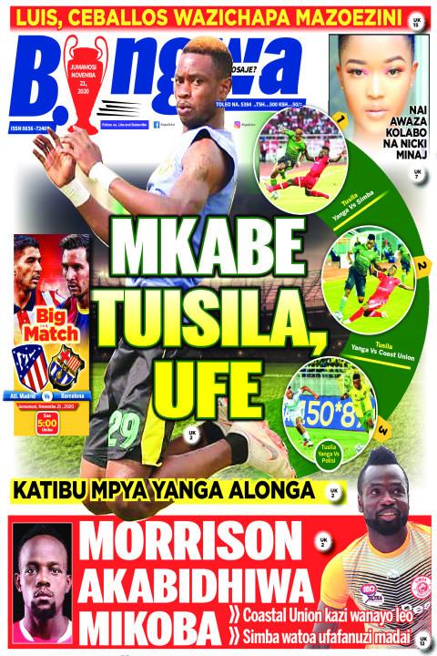 MKABE TUISILA  UFE | Bingwa