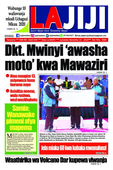 Dkt. Mwinyi 'awasha moto' kwa Mawaziri  | LaJiji