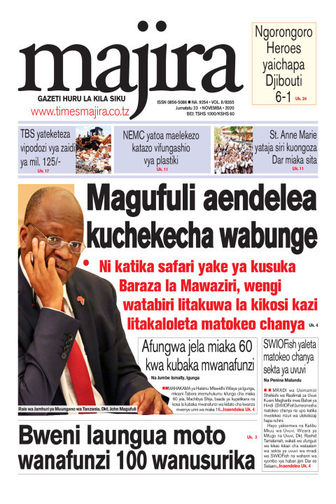 Magufuli aendelea kuchekecha wabunge | MAJIRA