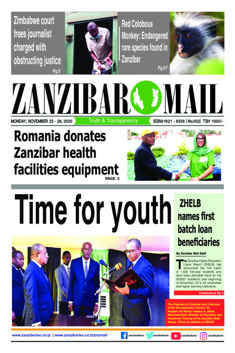 Time for youth | ZANZIBAR MAIL