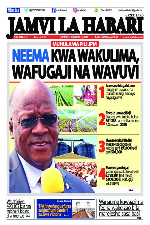 Neema kwa wakulima, wafugaji na wavuvi | Jamvi La Habari