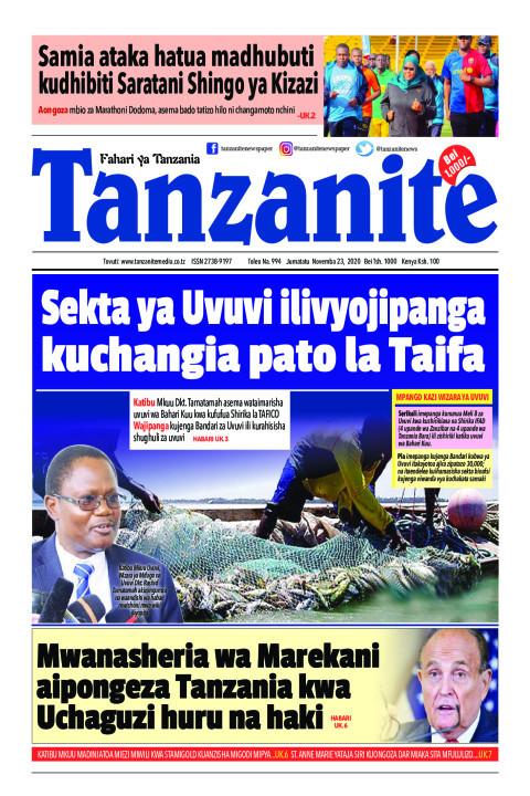 Sekta ya Uvuvi ilivyojipanga kuchangia pato la Taifa | Tanzanite