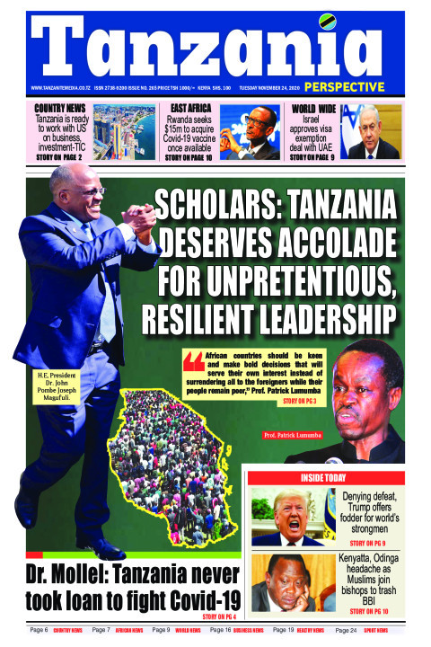 Scholars: Tanzania deserves accolade for unpretentious, resi | Tanzania Perspective