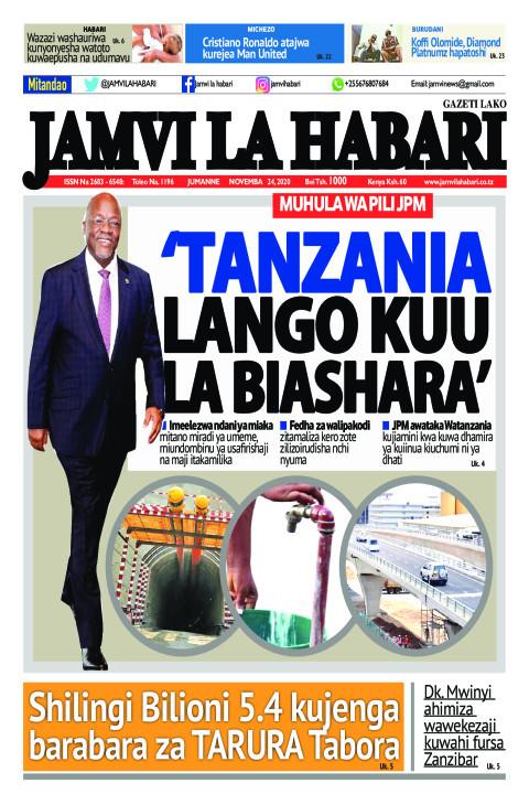 'Tanzania lango kuu la biashara' | Jamvi La Habari