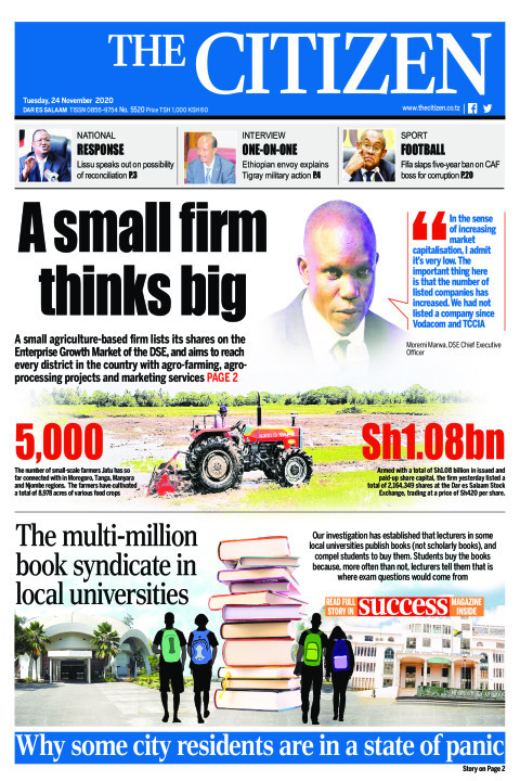 A SMALL FIRM THINKS BIG  | The Citizen