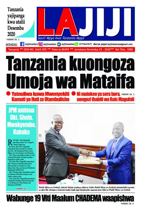 Tanzania kuongoza Umoja wa Mataifa  | LaJiji