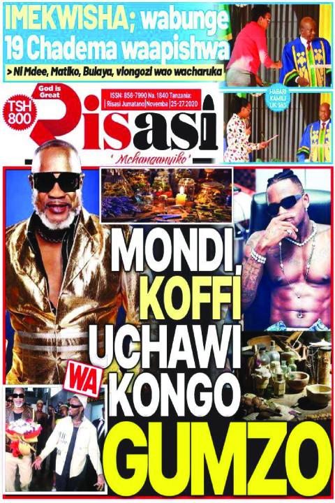 MONDI, KOFI UCHAWI WA KONGO GUMZO | Risasi Mchanganyiko