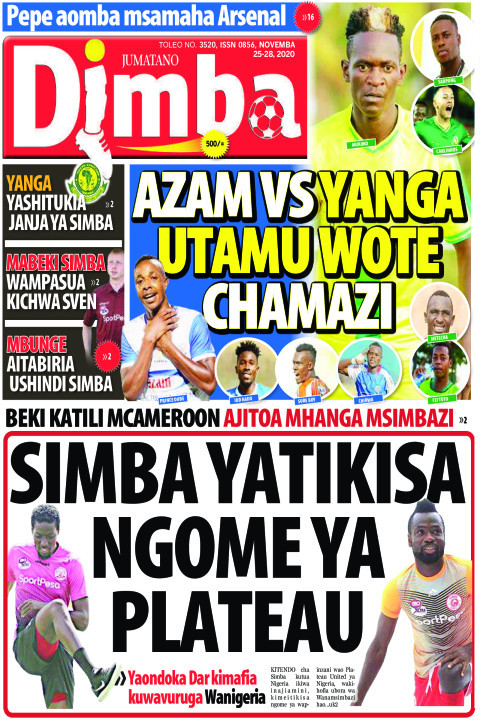 AZAM vs YANGA Utamuwote Ch | DIMBA