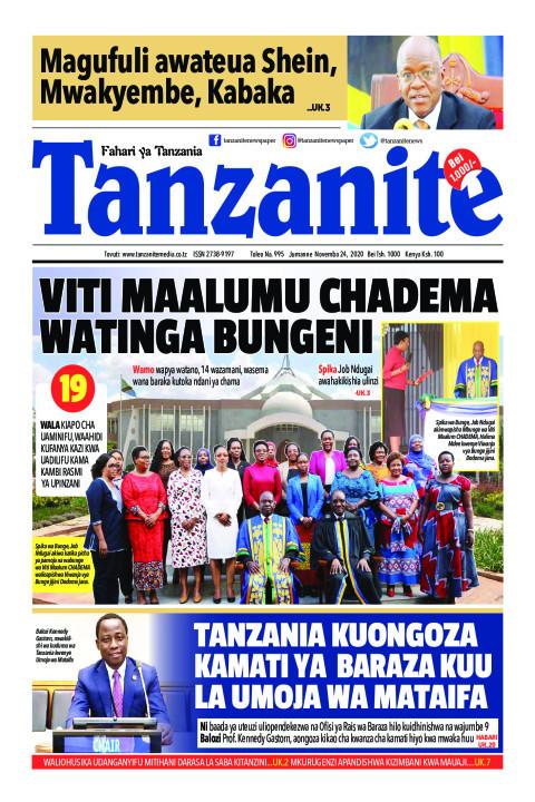 VITI MAALUMU CHADEMA WATINGA BUNGENI | Tanzanite