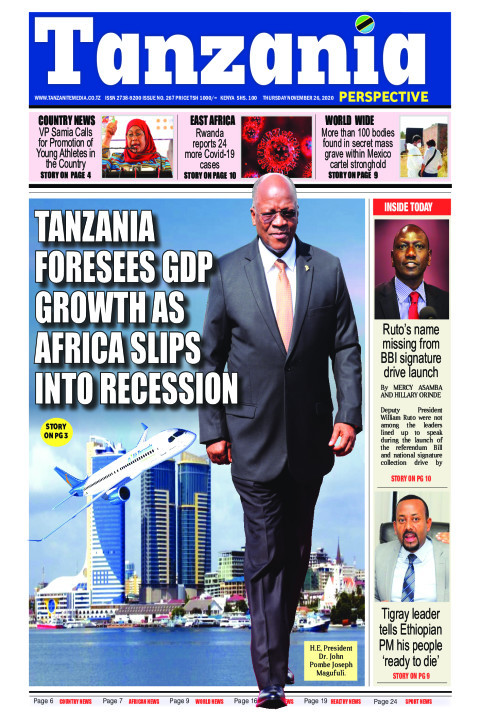 Tanzania foresees GDP growth as Africa slips into recession | Tanzania Perspective
