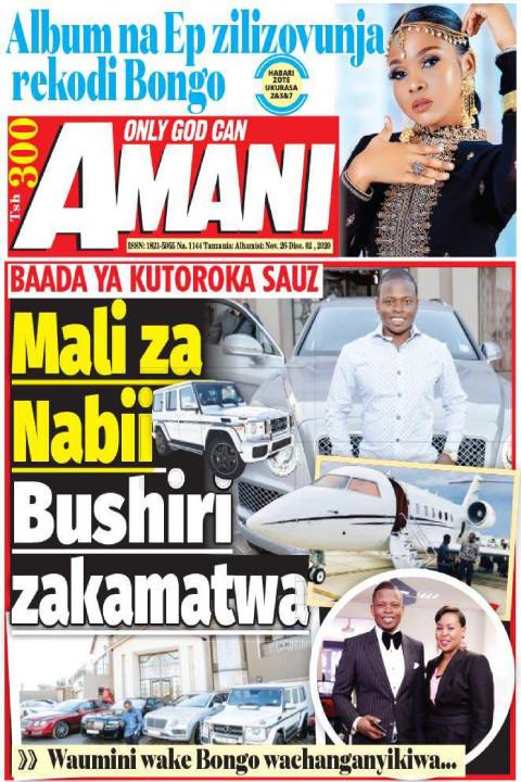 Mali za Nabii Bushiri zakamatwa | AMANI