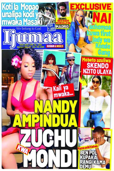 NANDY AMPINDUA ZUCHU KWA MONDI | Ijumaa Ijumaa