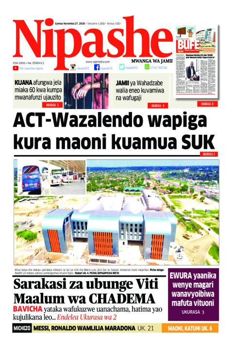 ACT - Wazalendo wapiga kura maoni kuamua SUK | Nipashe