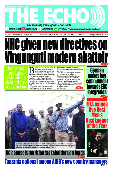 NHC given new directives on Vingunguti modern abattoir   The ECHO
