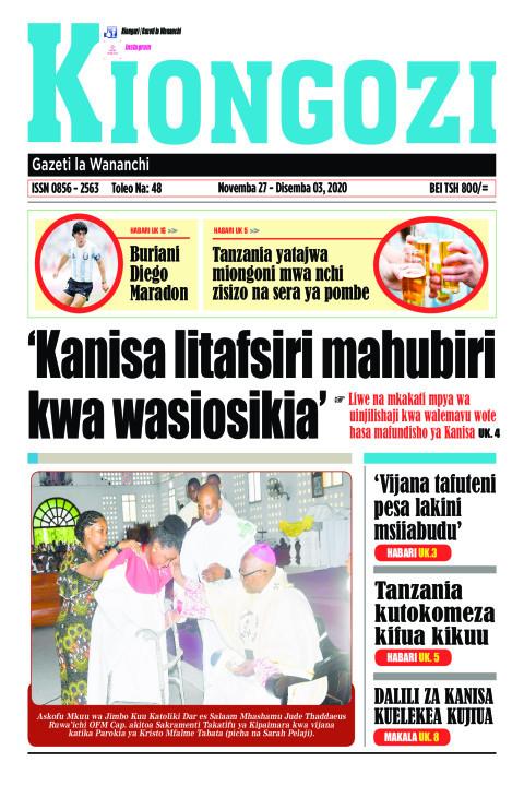 'Kanisa litafsiri mahubiri kwa wasiosikia' | Kiongozi