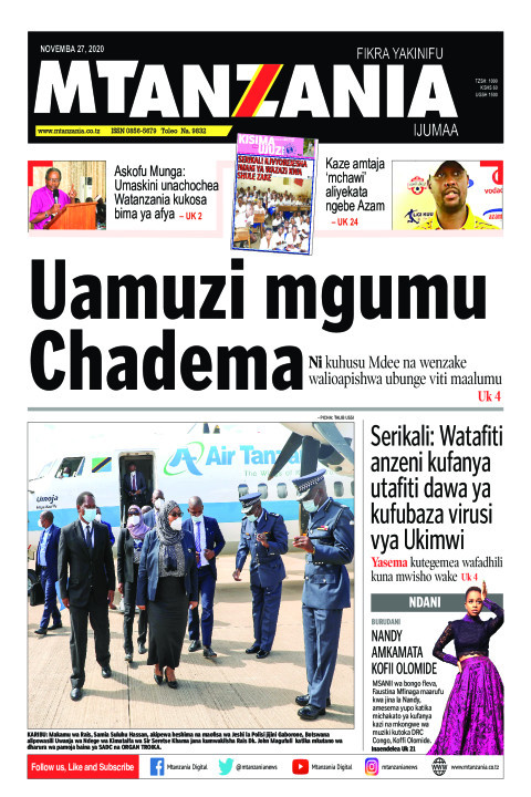 Uamuzi mgumu Chadema | Mtanzania
