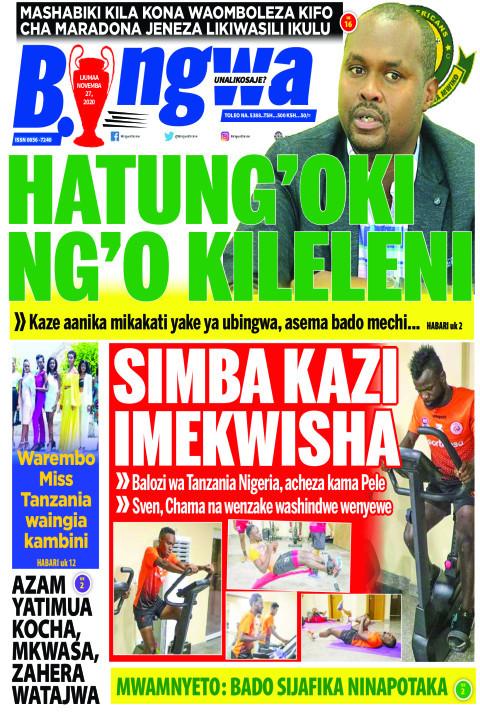 HATUNG'OKI NG'O KILELENI | Bingwa