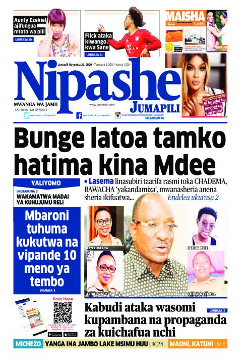Bunge latoa tamko hatima kina Mdee | Nipashe